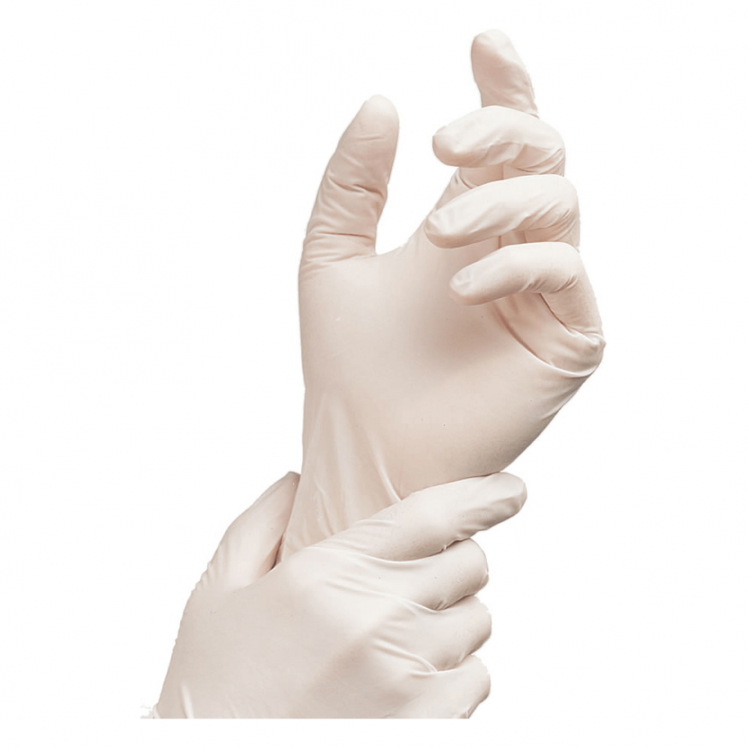 Latex Powdered free Gloves