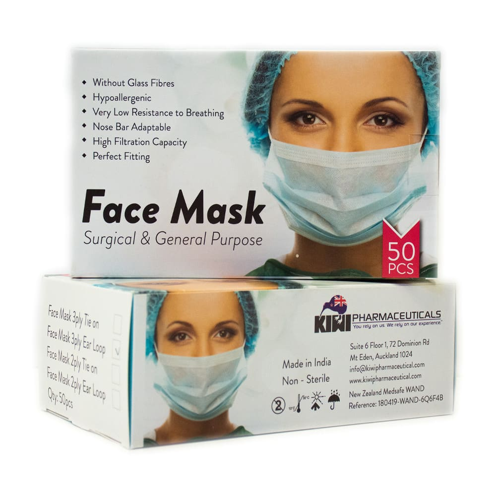 Surgical Face Mask – Pack of 50
