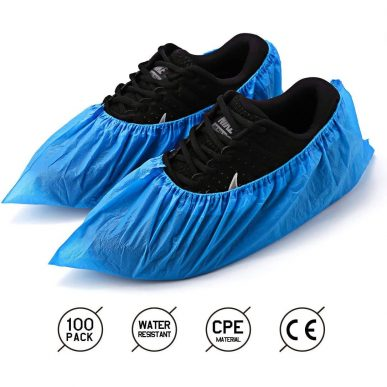 Disposable Shoe Cover on shoes
