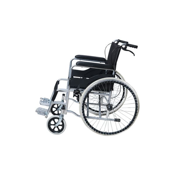 flodable wheelchair left side