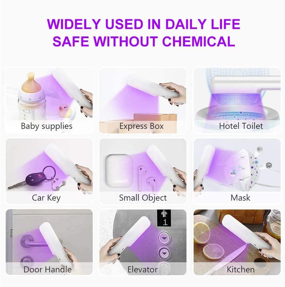 portable uv sterilizer daily use