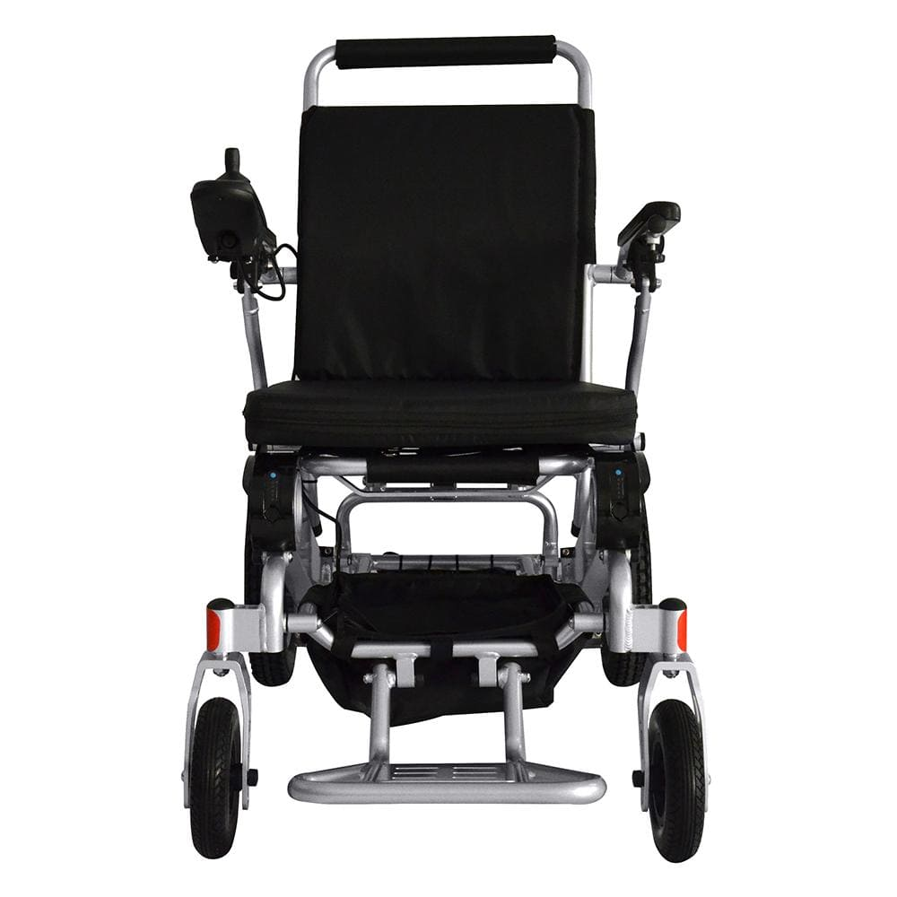 powered wheel chair front