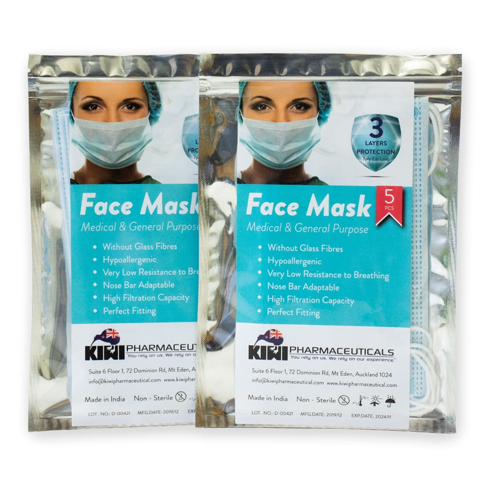 Surgical Face Mask – Pack of 5