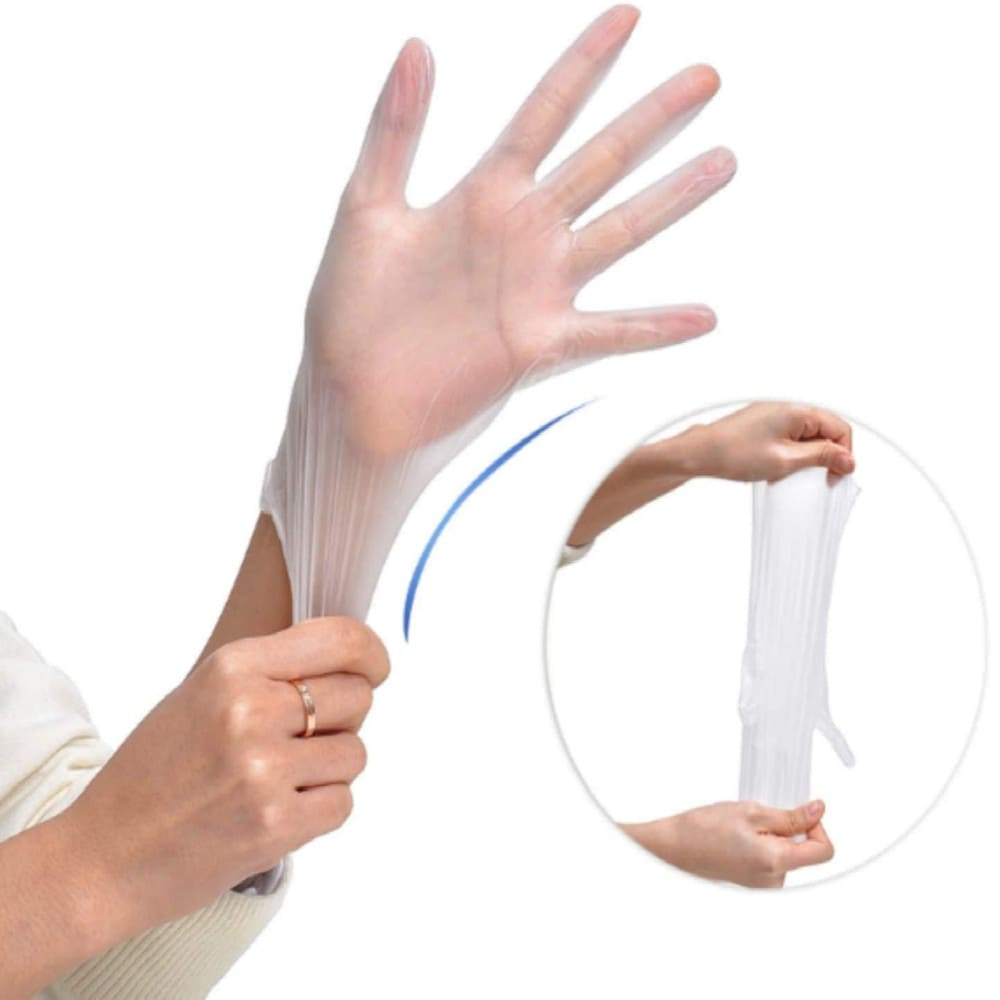 Vinyl Gloves non-sterile stretchable
