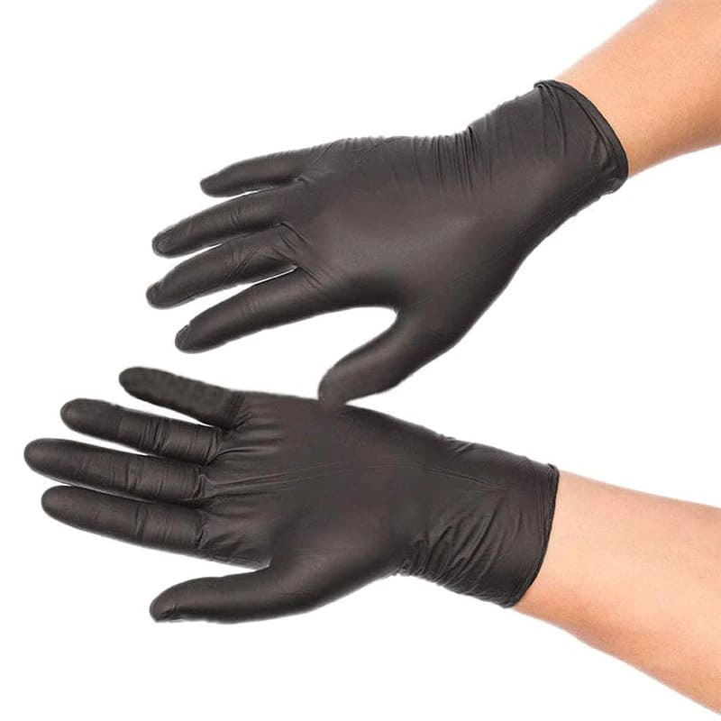 Nitrile Gloves – Black