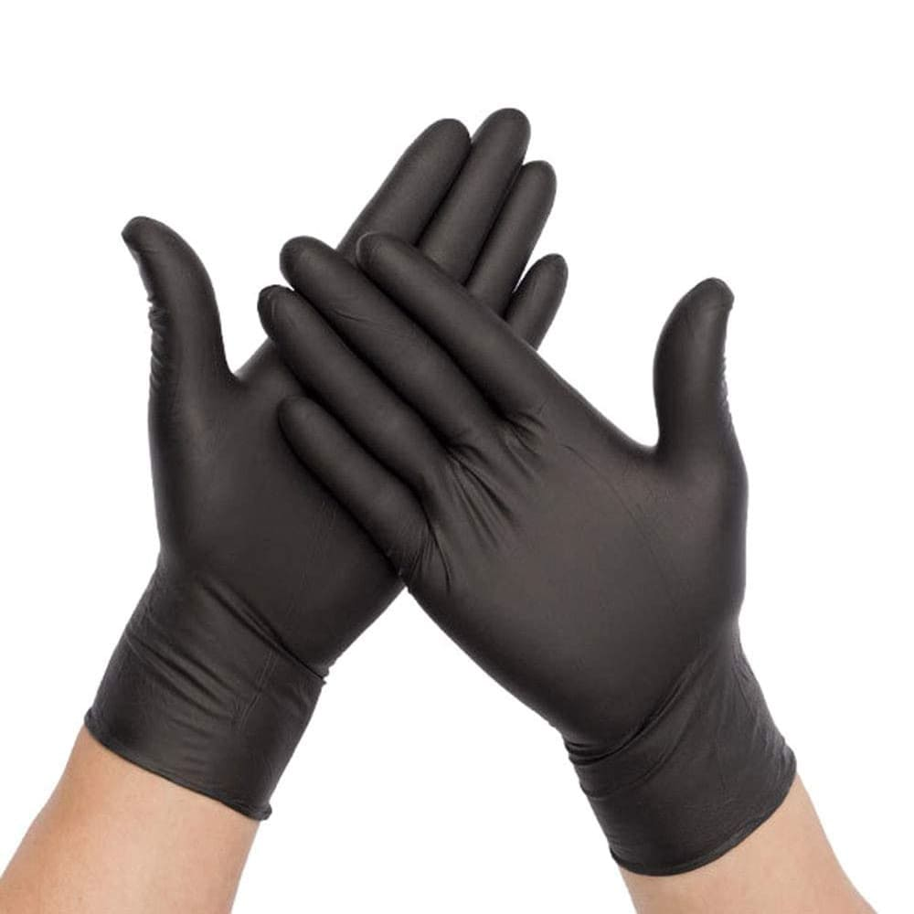 Nitrile Gloves - Black