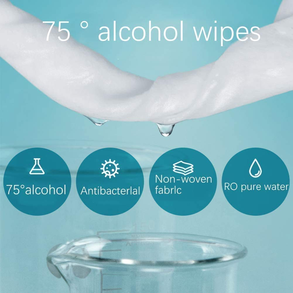 wet wipes 75 % ethanol