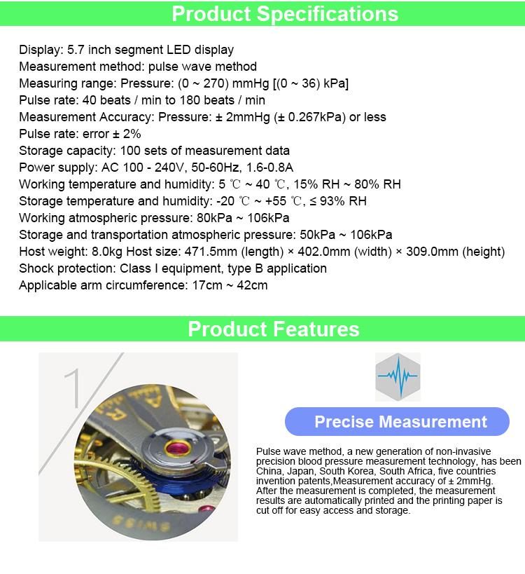 Surgical Supplies HTB1xbMhXwvGK1Jjy0Faq6z7lpXax Pulsewave BP Monitor for Hospital